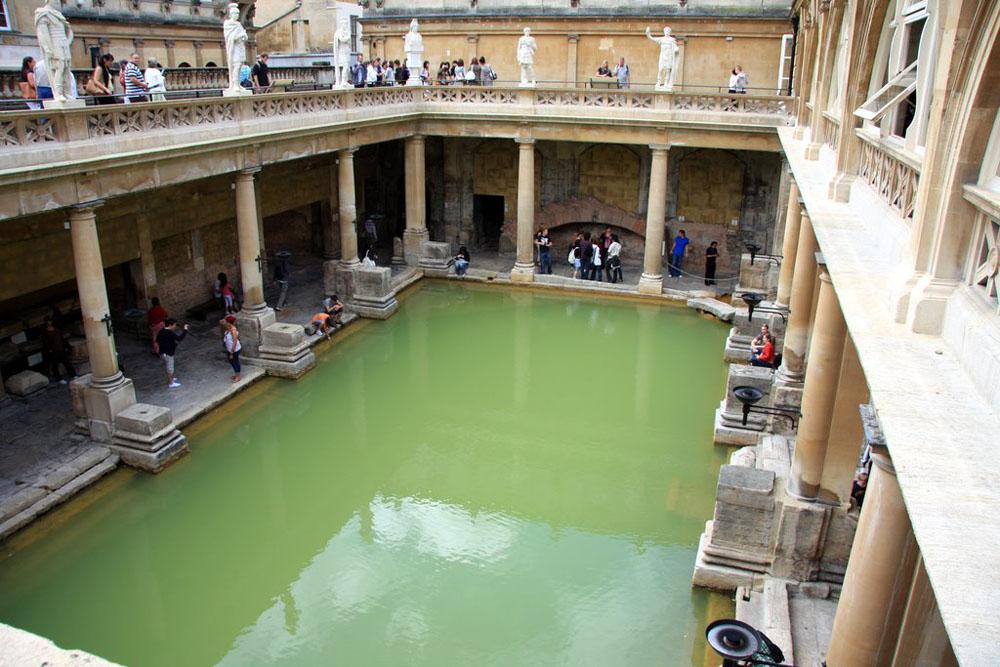 Так выглядят римские термы, сохранившиеся до наших дней