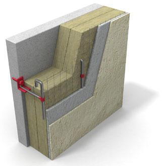 Утепление фасадов - тяжелая штукатурная система