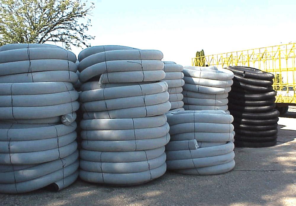 Дренажные трубы из полистирола для борьбы с грунтовыми водами