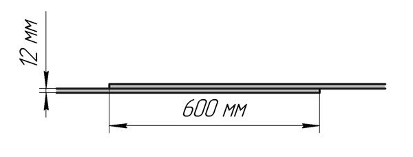 Соединение внахлёст силовой арматуры вязкой