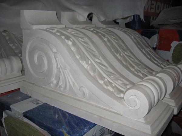 Декор из гипса