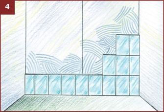 Укладка керамической плитки на пол с использованием крестиков
