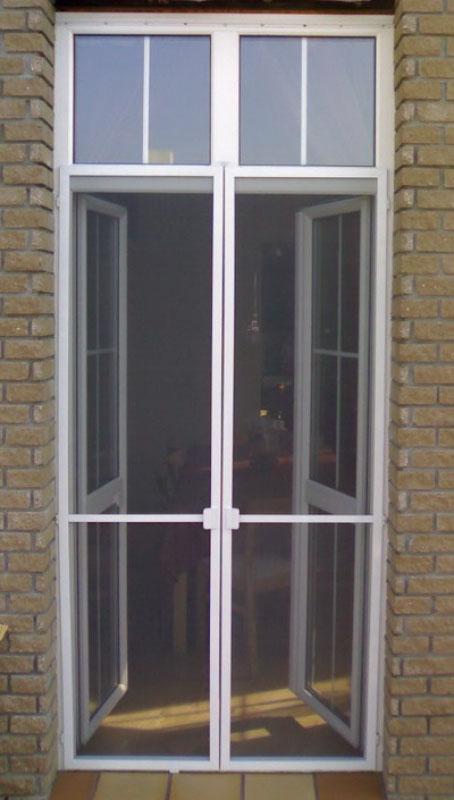 Двойная дверная сетка