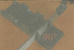 Инструменты для разметки и фиксации древесины - Использование пропила