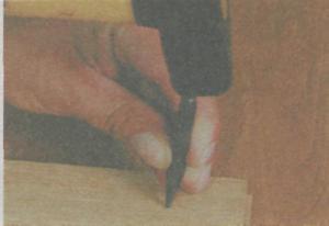 Инструменты для разметки и фиксации древесины - Пробой