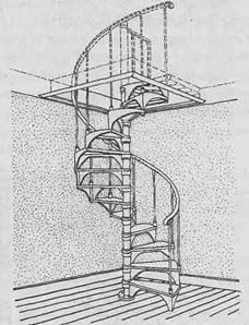 Лестницы - Конструкция опорной стойки