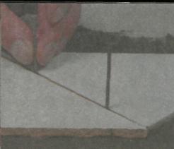 Рис. 8. Ровные плиточные швы