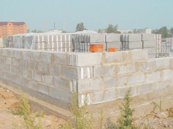 Использование ячеистого бетона для строительства дома
