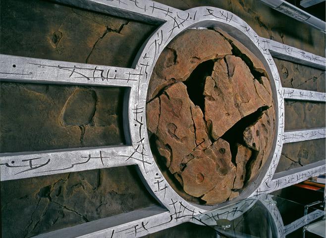 Декоративный бетон в оформлении аквариума