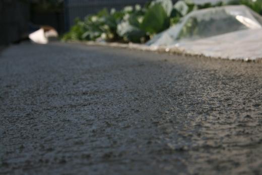 Укладка бетонной смеси