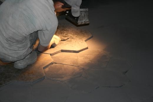 Отпечатывание рисунка при помощи текстурных матриц