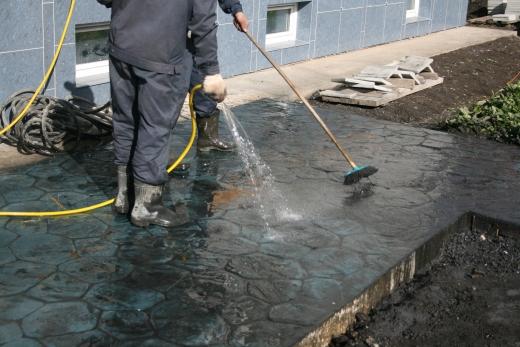 Отмывка и нанесение защитного слоя