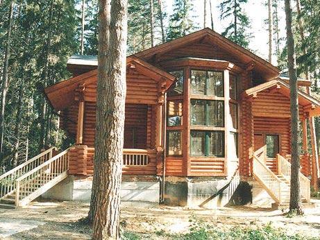 Пример деревянного дома