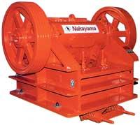 Щековая дробилка фирмы 'Nakayama' (модель серии HS) позволяет существенно снизить процент лещадных зерен