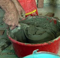 Приготовления раствора для кладки печи