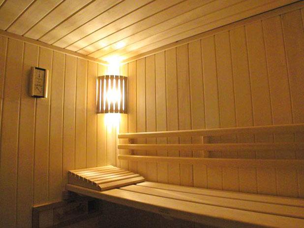 светильник, баня