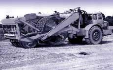 Рис. 4. Комбинированный пневморешетчатый статический каток с блоком пневмошин и решетчатым вальцом