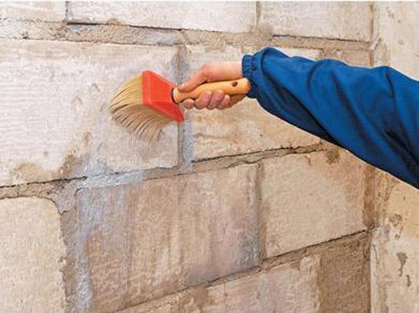 Первый этап утепления фасада дома — подготовка основания под мокрое утепление